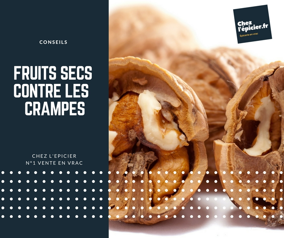 Fruits secs contre les crampes